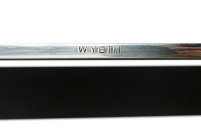 WYETH Chrysalis Table No. 1 in Blackened Stainless Steel with Polished Edges