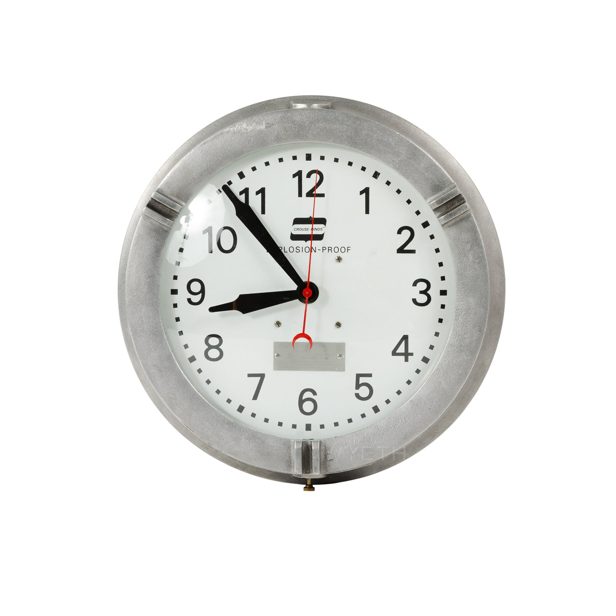 Explosion-Proof Clock - Accessories - Crouse-Hinds WYETH