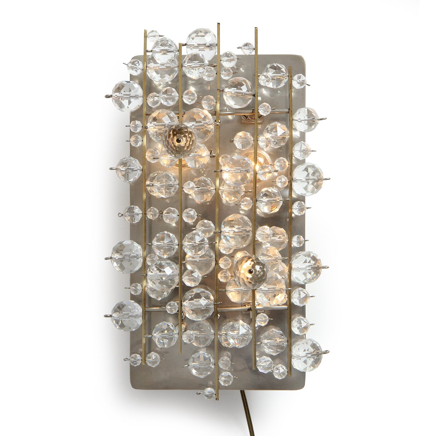Cut Crystal Wall Lamp