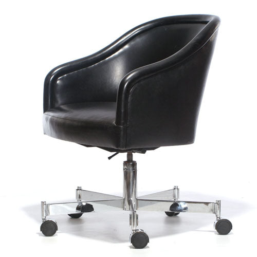 Barrel-Back Desk Chair - Seating - Ward Bennett WYETH