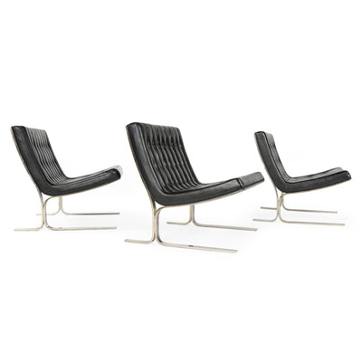 Set of Three Lounge Chairs