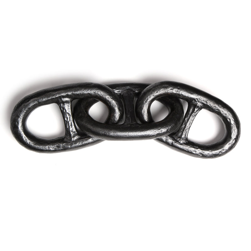 Patinated Forged Iron Chain Links - Accessories - ----- WYETH