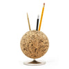 Swiveling Cork Desk Organizer
