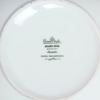 Tall Walled Porcelain Bowl