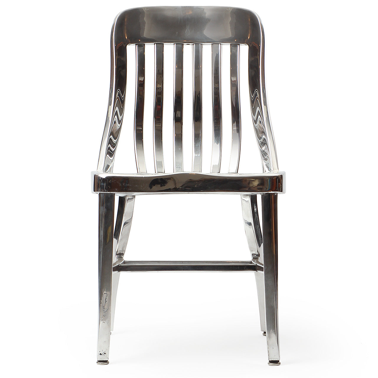 Polished Aluminum Chair - Goodform - WYETH