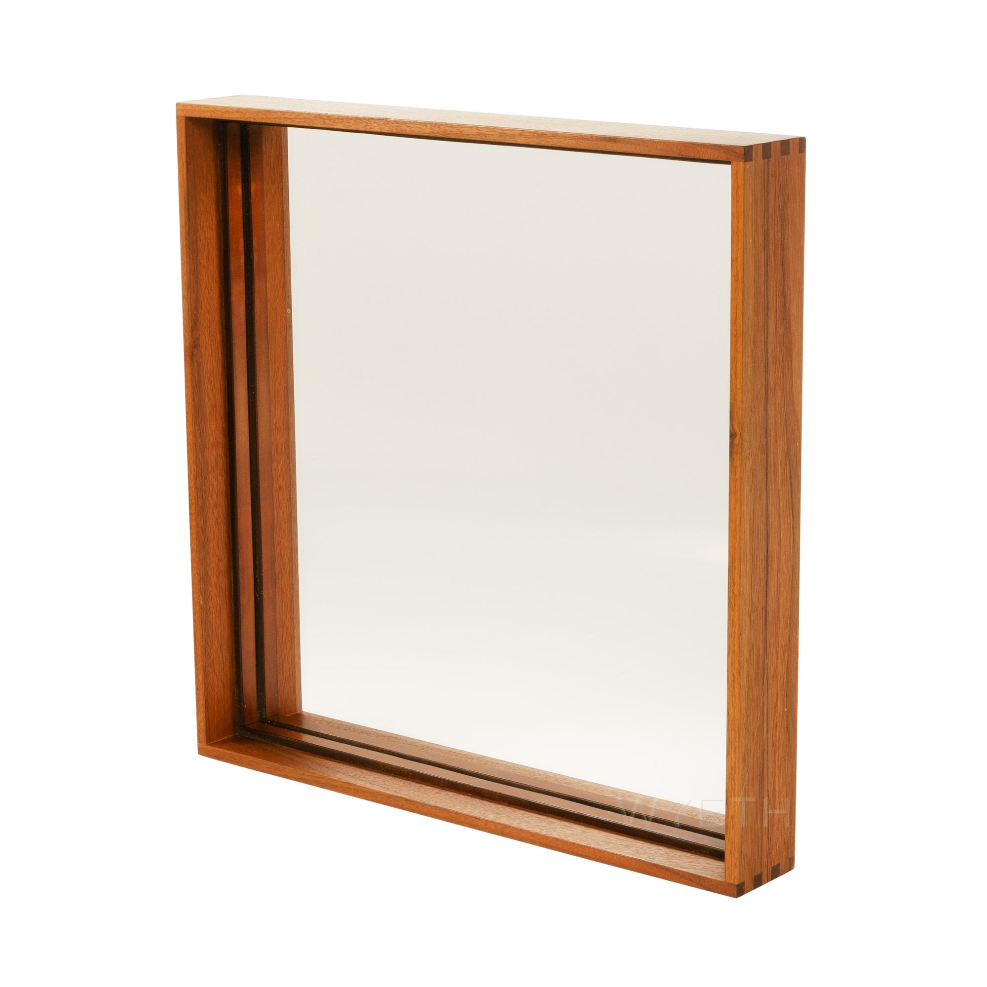 Thin Line Wood Mirror
