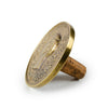 Commemorative Coin Bottle Stopper - Tabletop - Carl Aubock WYETH