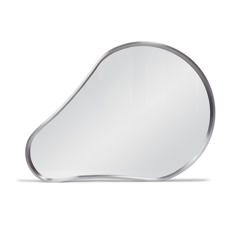 Biomorphic Steel Wall Mirror