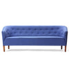 Tufted Blue Sofa