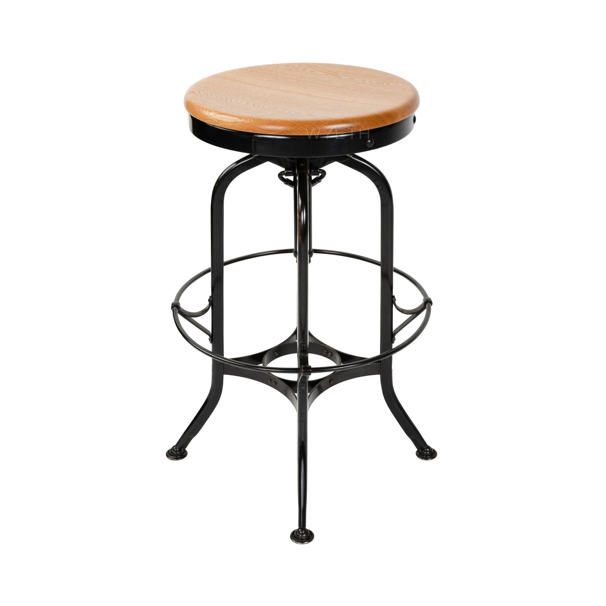 Adjustable-Height Stool - Seating - ----- WYETH