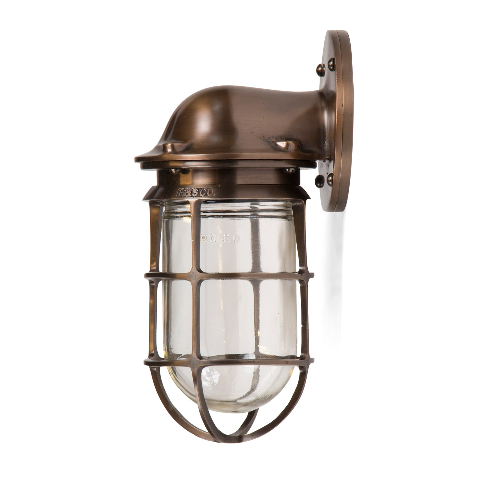 Industrial Caged Light - Lighting - Russell & Stoll Co. WYETH