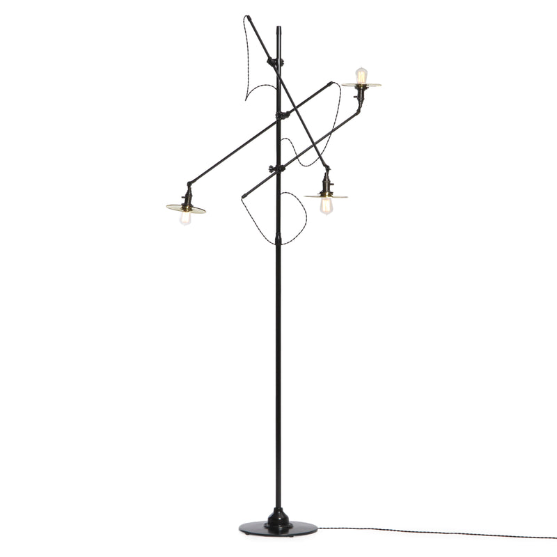 Adjustable 3 Arm Floor Lamp