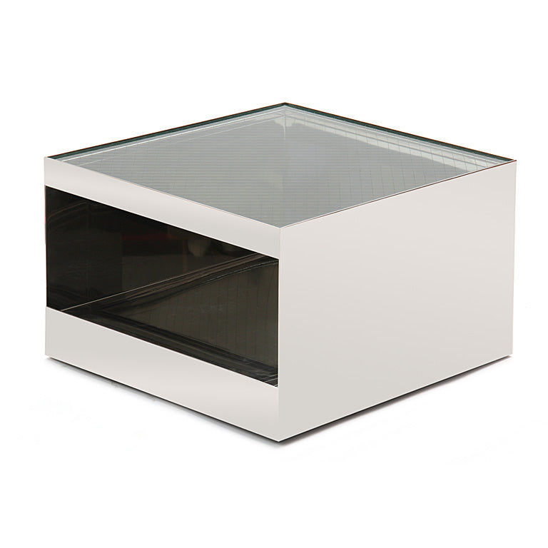 Cube-Form End Table
