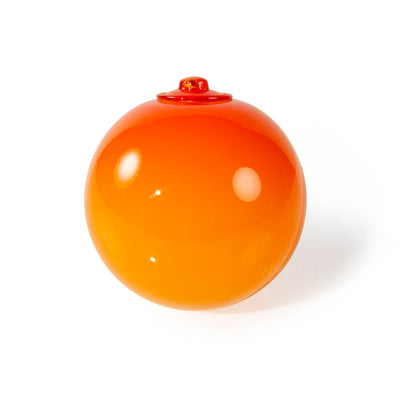 Danish Blown Glass Hanging Ornaments