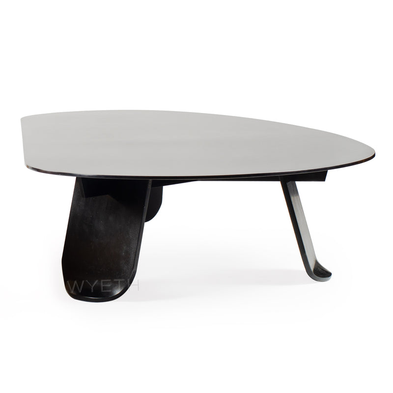WYETH Chrysalis Low Table No. 1 in Blackened Steel