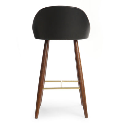 Low Backed Bar Stool