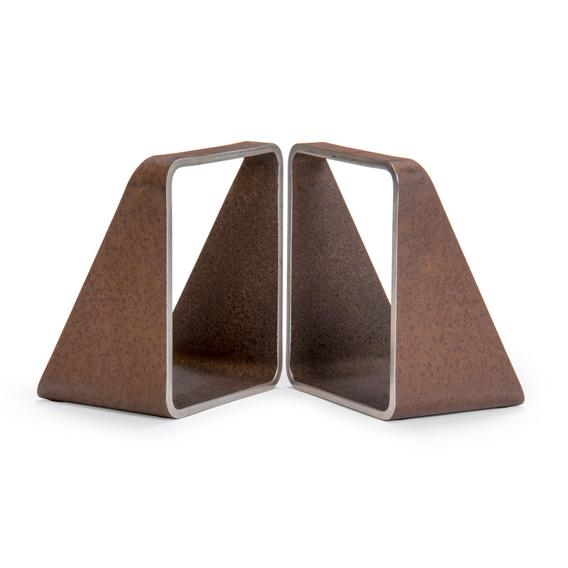Architectural Steel Bookends