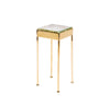 WYETH Original Glass Block Cocktail/Side Table