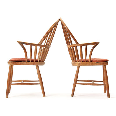 Oak Windsor Chair - Seating - Frits Henningsen WYETH