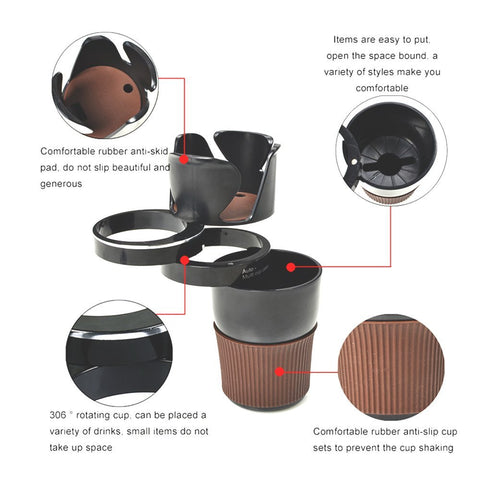 5 in 1 Multi-function Car's Cup Holder