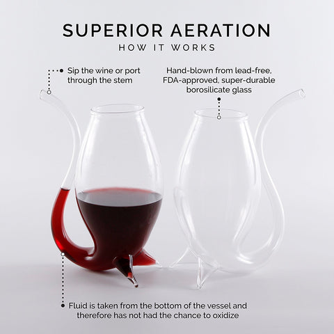 Straw Wine Glass Sippers (Buy 1 get 1 Free)