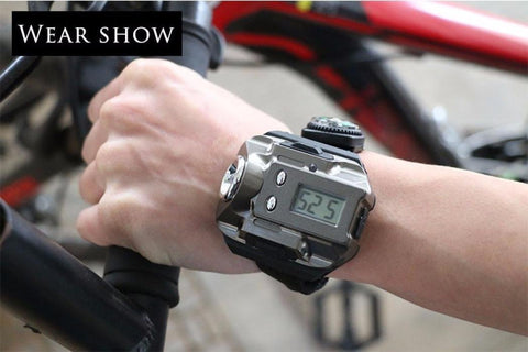 Rechargeable Multi-functional Watch