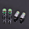Image of 4pcs 36 PSI Tire Pressure Indicator Valve Stem Caps