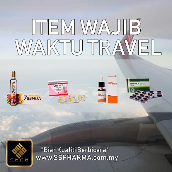 7 ITEM WAJIB WAKTU TRAVEL