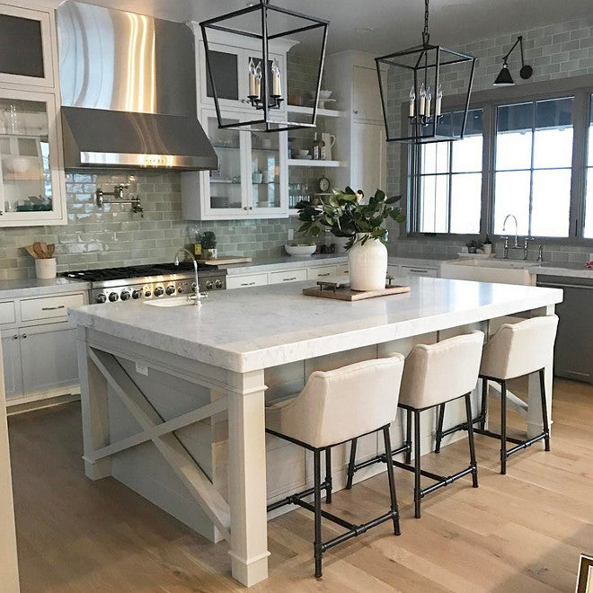 Shop Home Styles White Farmhouse Kitchen Islands At Lowes Com: 37 Beautiful Farmhouse Interior Designs You'll Swoon For