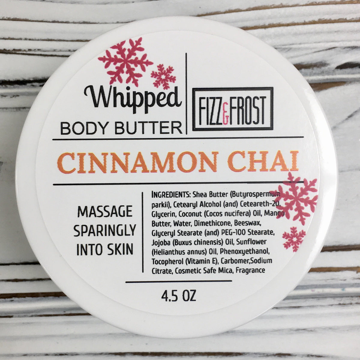 Cinnamon Chai - Whipped Body Butter