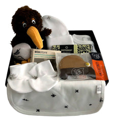 Organic New Born Gift Boxes - Basket Creations NZ