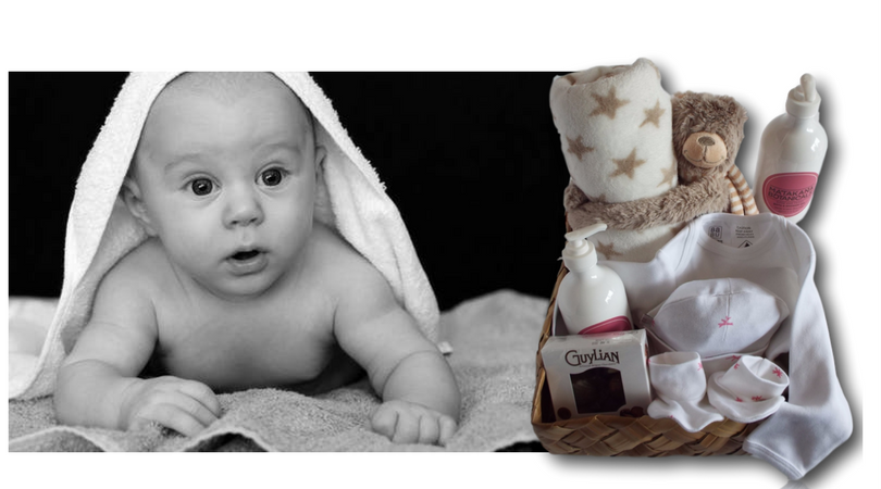 baby gift baskets, new born hampers