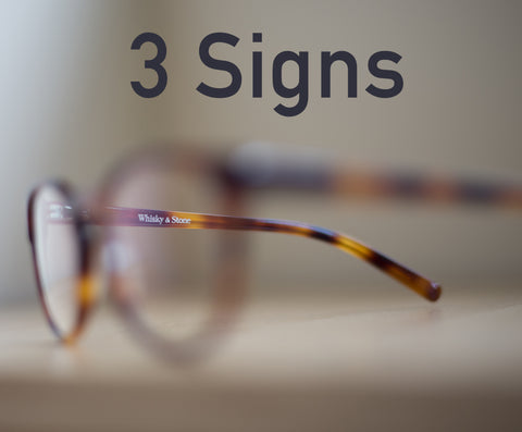 3 Signs You Need Computer Glasses
