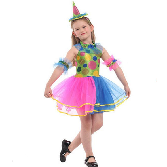 Halloween Party Dress for Kids Colorful