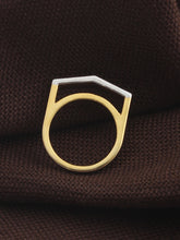 LOUPE ELLIPSE PLAIN FASHION JEWELLERY RING Collection LEL17BRG02, RING, Loupe, Loupe India - Loupe India