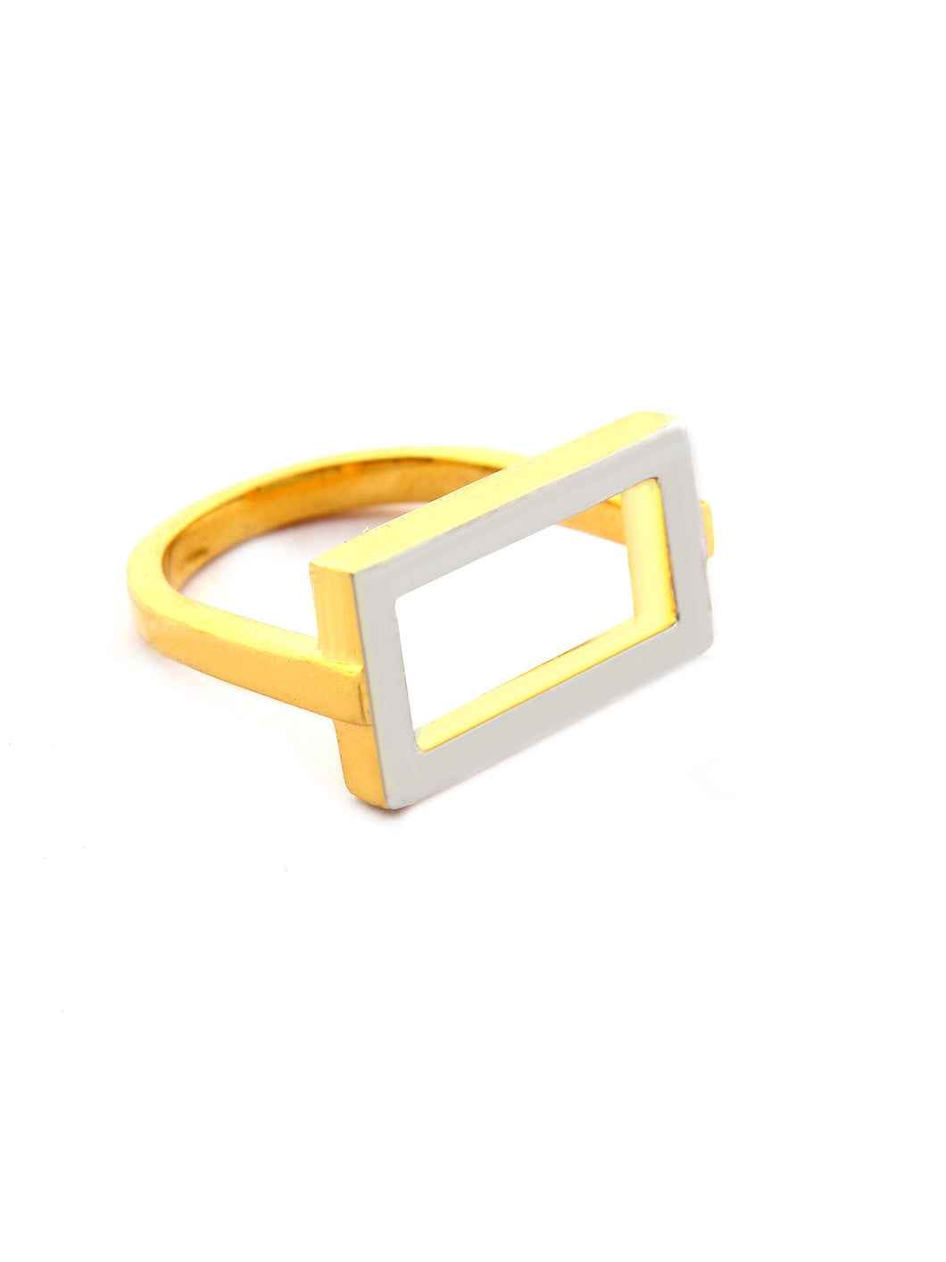 LOUPE ELLIPSE PLAIN FASHION JEWELLERY RING Collection LEL17BRG03, RING, Loupe, Loupe India - Loupe India