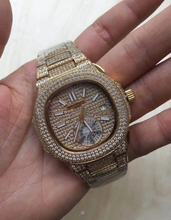 Patek Philippe Nautilus Iced-Out (Custom) (Various Options)
