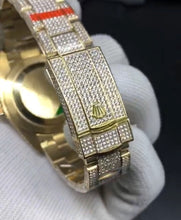Custom Rolex DateJust Fully Flooded Iced Out (Flower-Setting & Jeweler Quality)