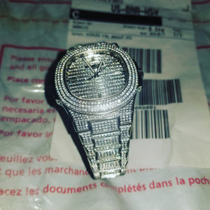 Patek Philippe Nautilus Iced Out Diamond Encrusted