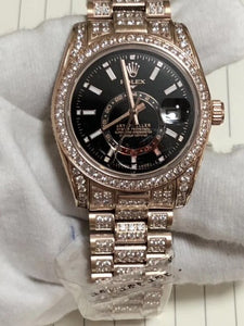 Rolex SkyDweller Iced Out