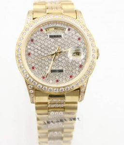 Rolex Datejust Diamond Encrusted 7