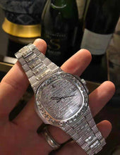 Patek Philippe Nautilus Baguette Diamond Iced Out