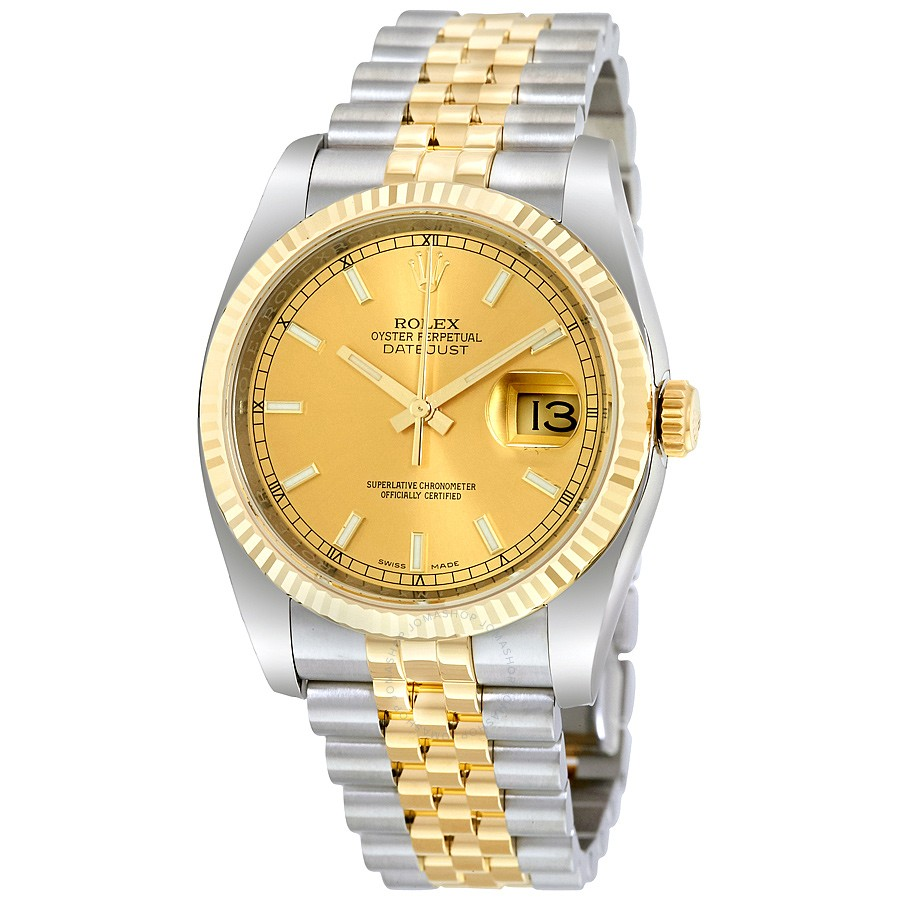 c rolex yellow wrist winding lady manual datejust gold golden watches woman perpetual watch photo oyster