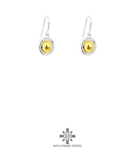 ATTICUS MEDIUM DROP EARRINGS | GOLD