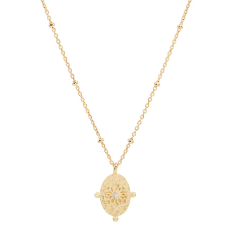 PATH OF LIFE GOLD NECKLACE