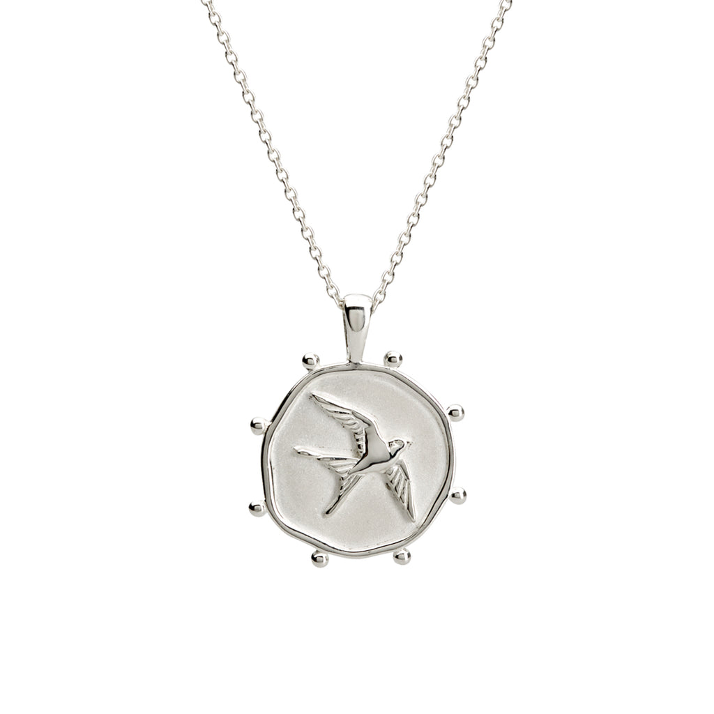 FREEDOM NECKLACE - SILVER
