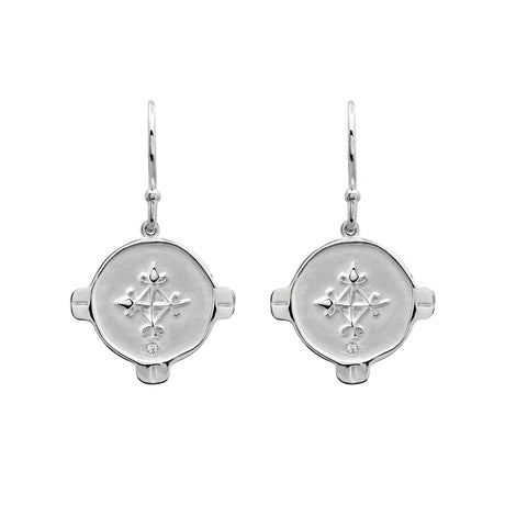 EARRINGS HOPE SILVER