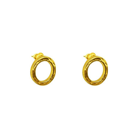 PHOENIX GOLD STUD EARRINGS
