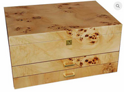 WOOD FINISH JEWELLERY BOX X-LARGE