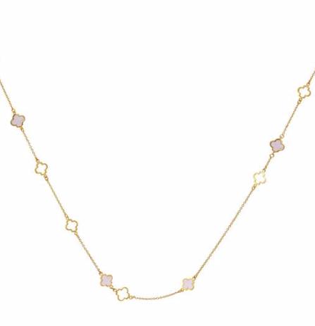 NECKLACE MALA NECKLACE GOLD BLUSH